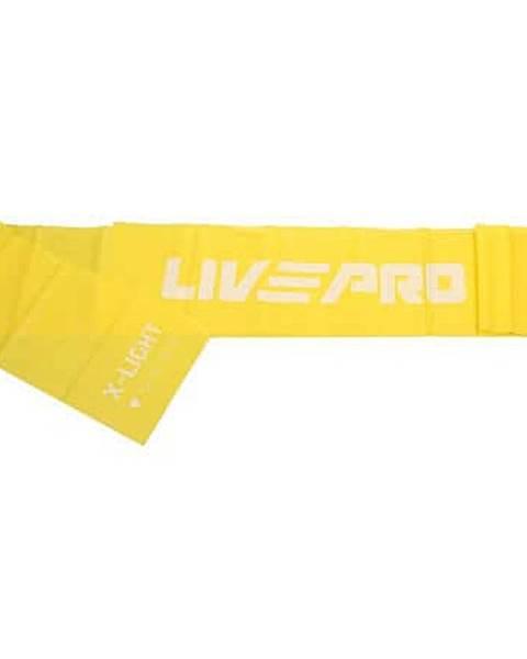 LivePro Resistance LP8413 posilovací guma žlutá
