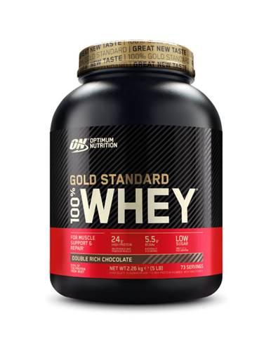 Optimum Nutrition 100 Whey Gold Standard 450 g dvojitá bohatá čokoláda