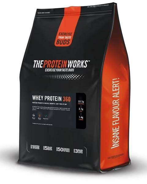 The Protein Works TPW Whey Protein 360 ® 1200 g banánový milkshake