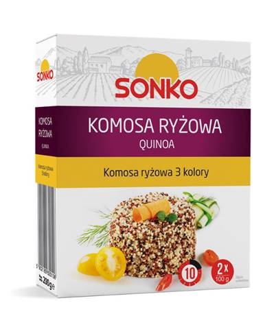 SONKO Quinoa trojfarebná 2 x 100 g