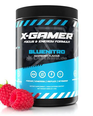 X-Gamer X-Tubz 600 g bluenitro