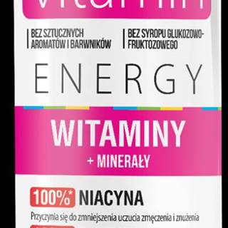 Vitamine energy drink Vitamíny + minerály - OSHEE 250 ml