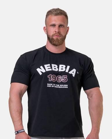 NEBBIA Tricko Golden Era Black  M