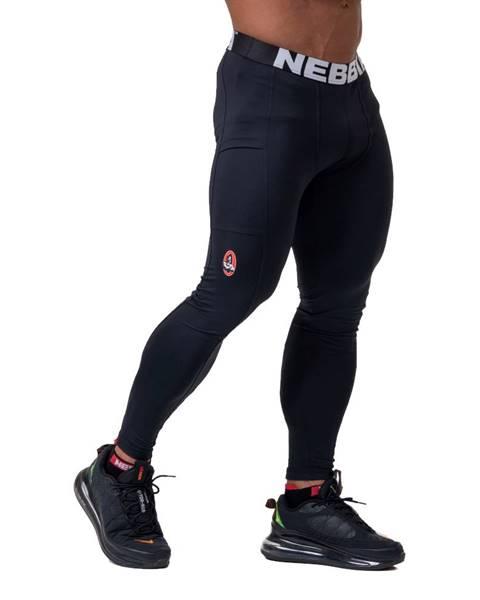 Nebbia Pánske legíny Nebbia Legend of Today 189 Black - M