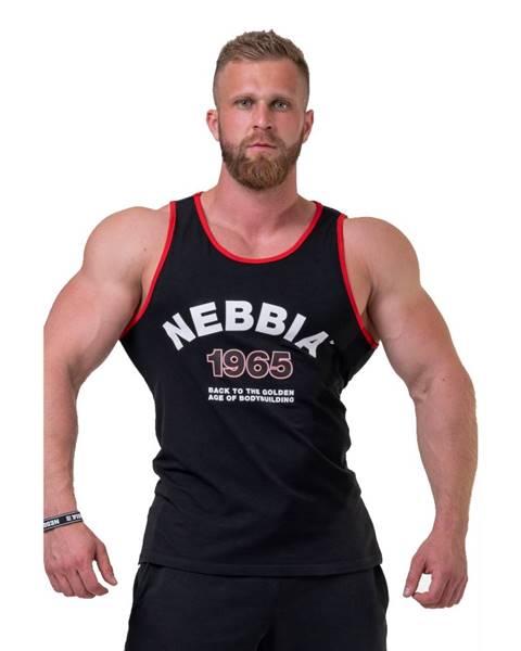 Nebbia Pánske tielko Nebbia Old School Muscle 193 Black - M