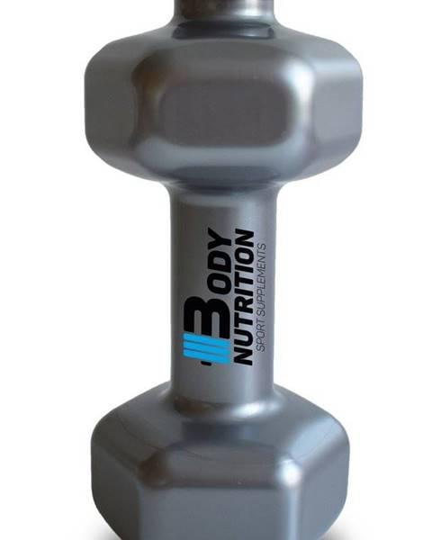 Body Nutrition Fľaša v tvare činky - Body Nutrition 700 ml.