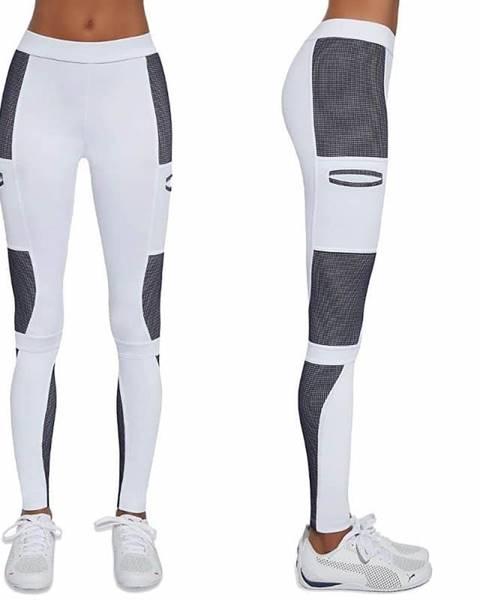 Bas Black Dámske športové legíny BAS BLACK Passion Farba bielo-modrá, Veľkosť L