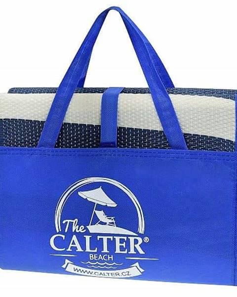 Calter Plážová podložka CALTER - taška, plastová, modrá