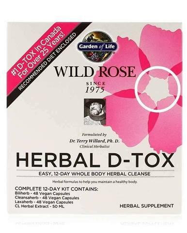 Wild Rose Herbal D-Tox - bylinná detoxikace celého těla