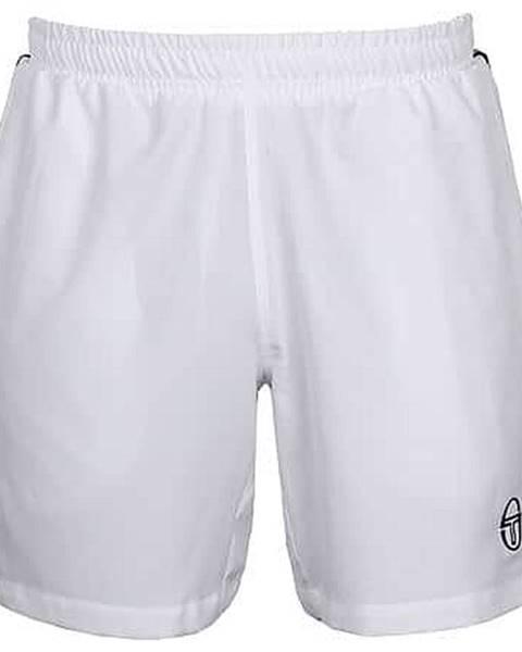 Sergio Tacchini Young Line Pro Shirts pánské šortky bílá Velikost oblečení: S