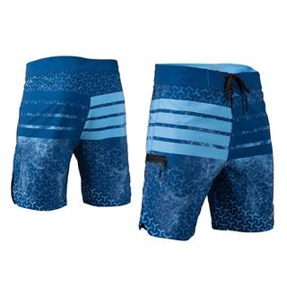 Pánske kraťasy Aztron Space modrá - XL