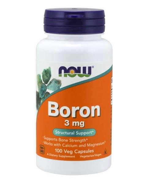 NOW Foods NOW Foods Boron 3 mg 100 kaps.