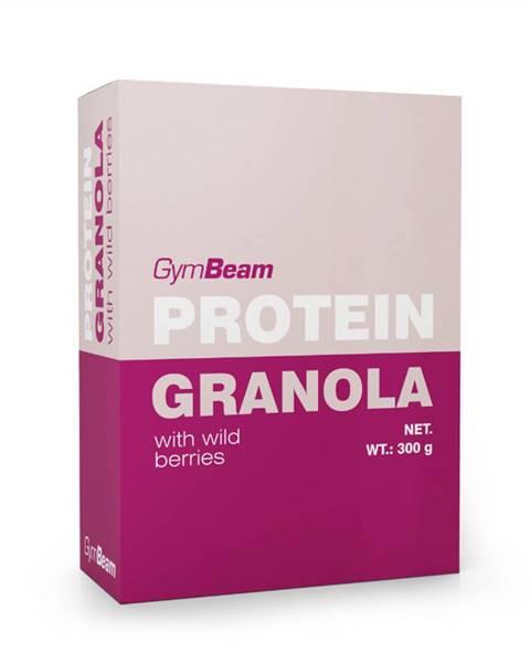 GymBeam GymBeam Proteínová granola s lesným ovocím 300 g