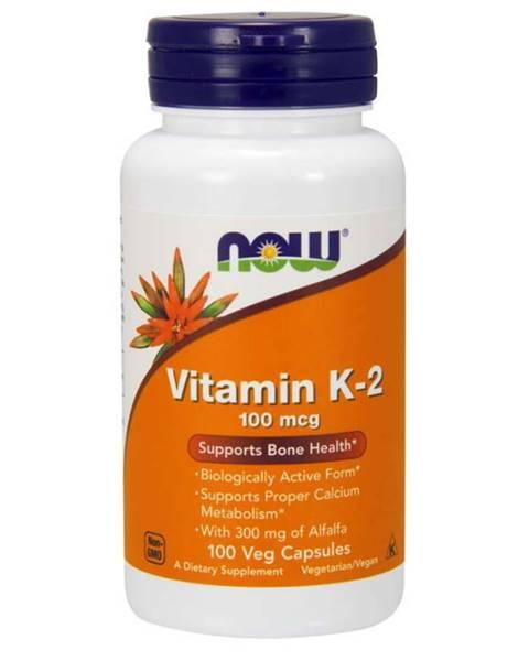 NOW Foods NOW Foods Vitamín K-2 100 mcg 100 kaps.