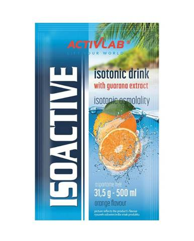 ACTIVLAB Iso Active 20 x 31,5 g citrón