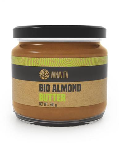 VanaVita BIO Mandľové maslo 340 g