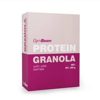GymBeam Proteínová granola s lesným ovocím 300 g