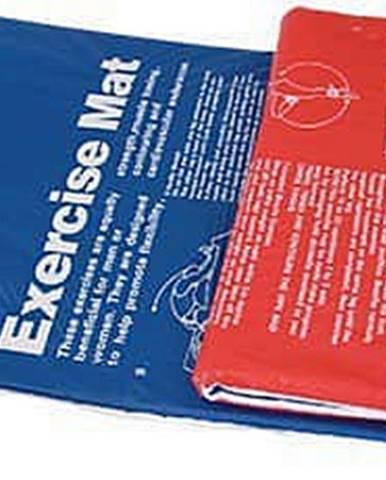 Podložka Aerobic, PVC s potlačou, modro / červená