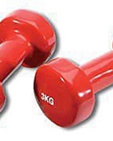 Činka aerobic 2 x 3 kg TUNTURI Vinyl červená