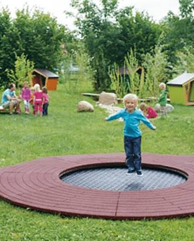 Eurotramp Trampolína EUROTRAMP Wehrfritz Fun -round- Kindergarden