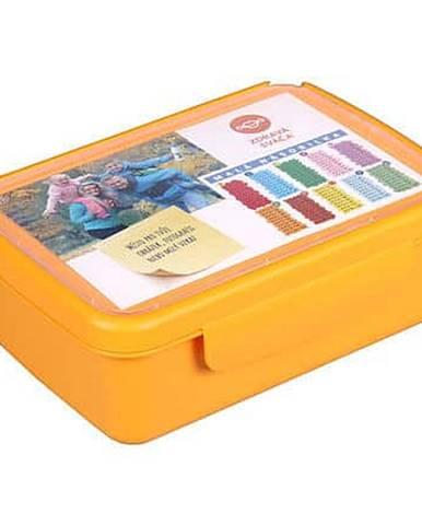 Zdravá sváča komplet box žlutá
