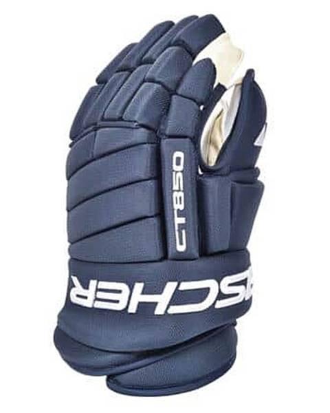 """Fischer CT850 SR hokejové rukavice modrá Délka: 14"""""""