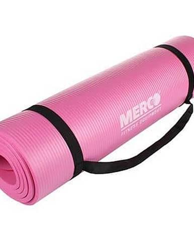Yoga NBR 10 Mat podložka na cvičení růžová