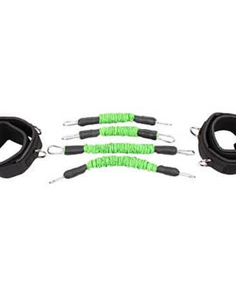 Merco Leg Trainer Set odporové gumy sada zelená