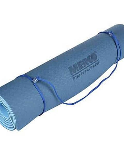 Merco Yoga TPE 6 Double Mat podložka na cvičení modrá-modrá