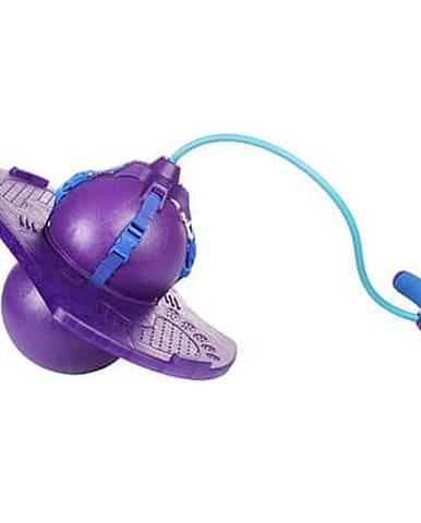 Handle Jump Ball skákací míč s rukojetí fialová