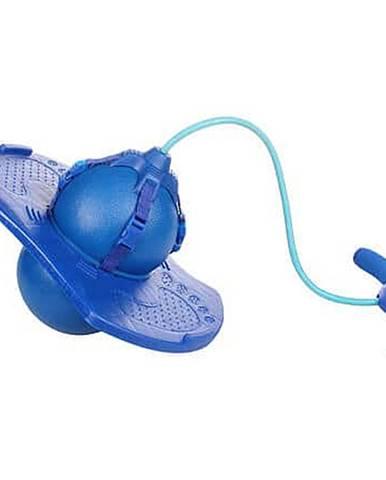 Handle Jump Ball skákací míč s rukojetí modrá