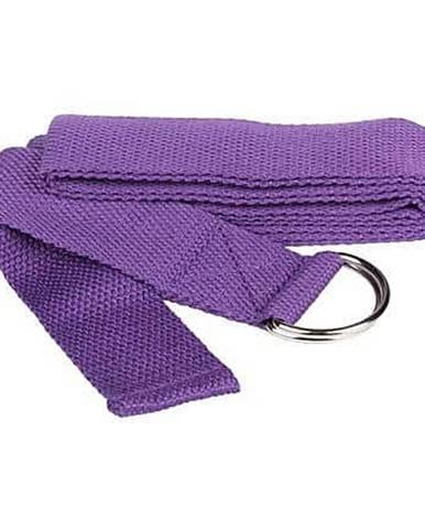Yoga Strap pás na jógu fialová