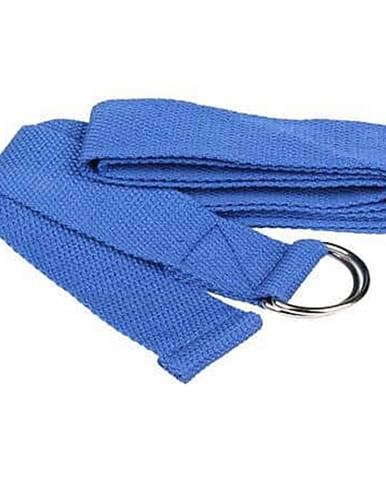 Yoga Strap pás na jógu modrá