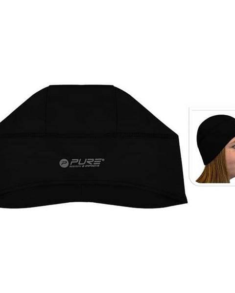Pure2Improve Reflexní běžecká čepice M/L černá