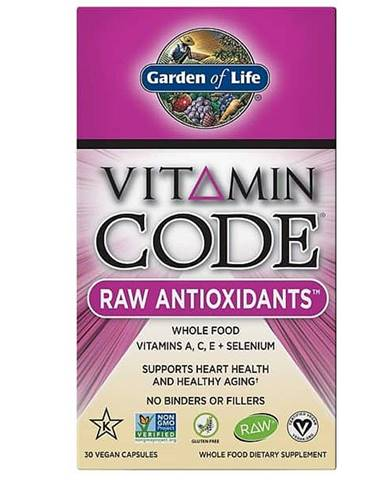 RAW Antioxidanty Vitamin Code - 30 kapslí