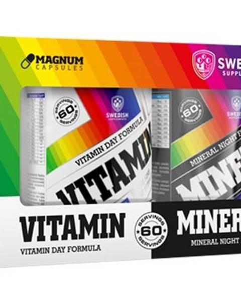 Swedish Supplements Vitamin+Mineral Complex - Swedish Supplements 60 dávok