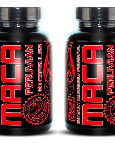 Best Nutrition 1+1 Zadarmo: Maca Peruvian od Best Nutrition 120 kaps. + 120 kaps.