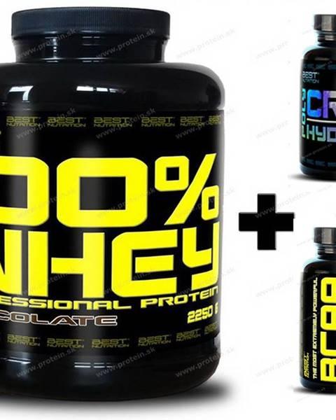 Best Nutrition 100% Whey Professional Protein - Best Nutrition 1000 g Banán