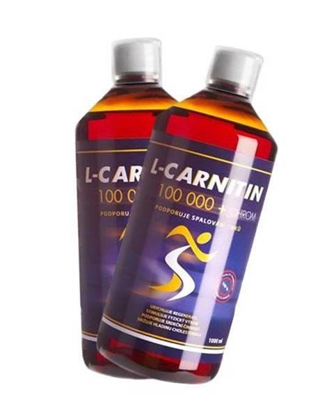 Arnie Nutrition 2x L-Carnitin 100 000 a poštovné ZADARMO! 2 x 1000ml, růžový grep + růžový grep