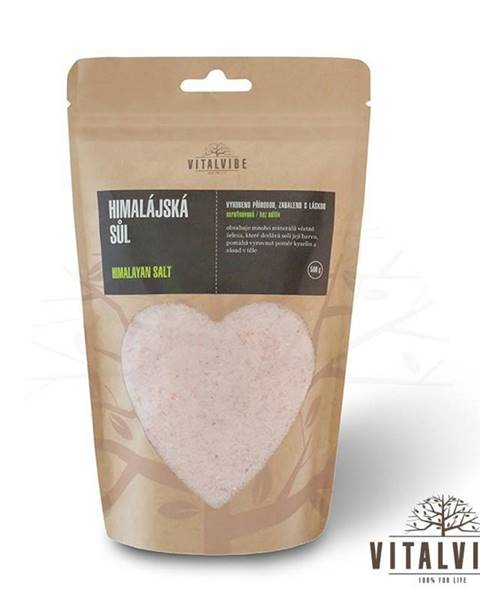 Vitalvibe Allnature Himalájska soľ 500 g