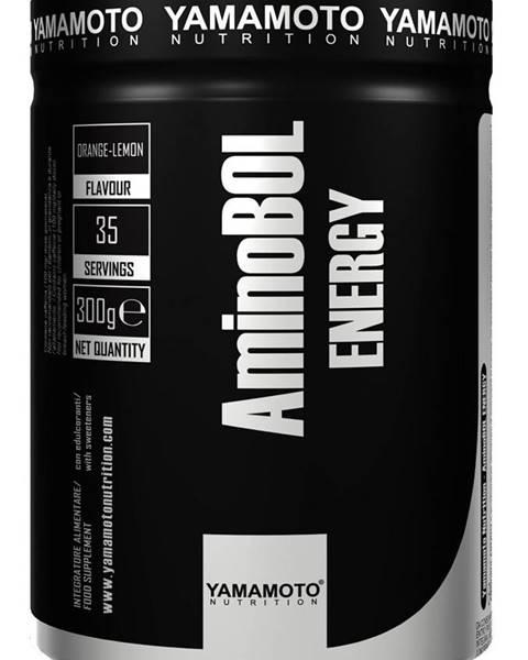 Yamamoto AminoBol Energy (predtréningová BCAA formula) - Yamamoto 300 g Orange-Lemon