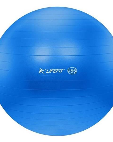 Lifefit Gymnastický míč LIFEFIT ANTI-BURST 55 cm, modrý