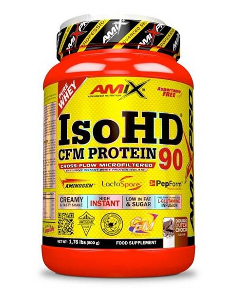 Amix IsoHD 90 CFM Protein - Amix 800 g Double Dutch Choco