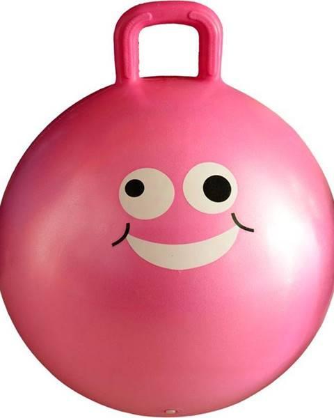 Lifefit Lifefit Dětský skákací míč JUMPING BALL 45 cm růžový