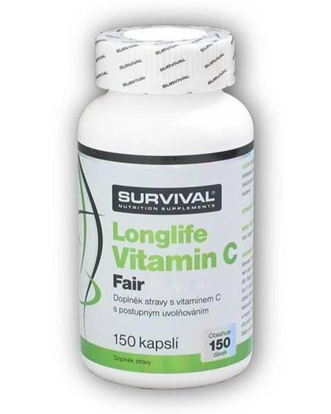 Survival Longlife Vitamin C Fair Power 150cps.