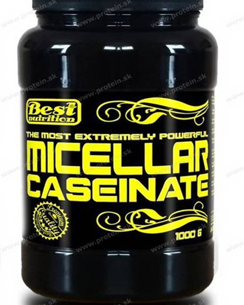 Best Nutrition Micellar Caseinate od Best Nutrition 1000 g Čokoláda