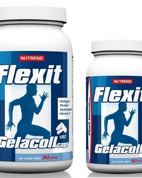 Nutrend Nutrend Flexit Gelacoll 180 tbl