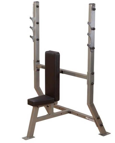 Body Solid Profesionálna bench lavica Body Solid SPB368G Shoulder press bench