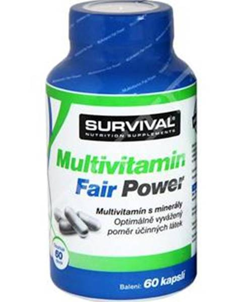 Survival Survival Multivitamin Fair Power 60 kapsúl 60kps.
