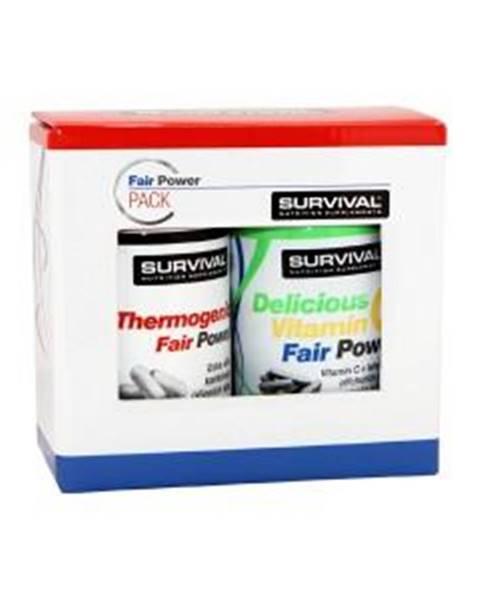 Survival Thermogenic Fair Power + Delicious Vitamin C Fair Power